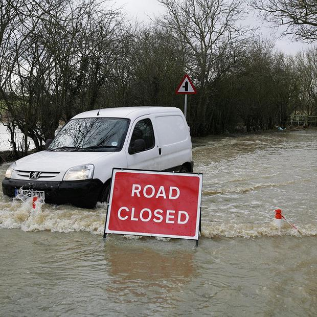 Parts of England and Wales are at risk of flooding over the next few days