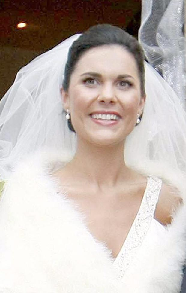 Michaela McAreavey on her wedding day