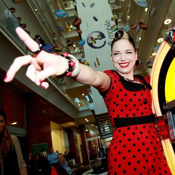 Singer Imelda May has been shortlisted for the Irish Album of the Year