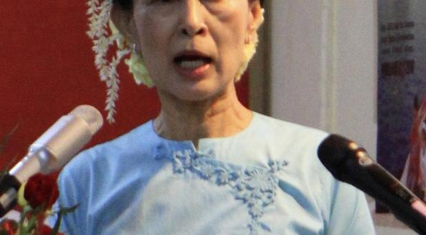 Aung San Suu Kyi is hoping to revive her political party in Burma (AP)