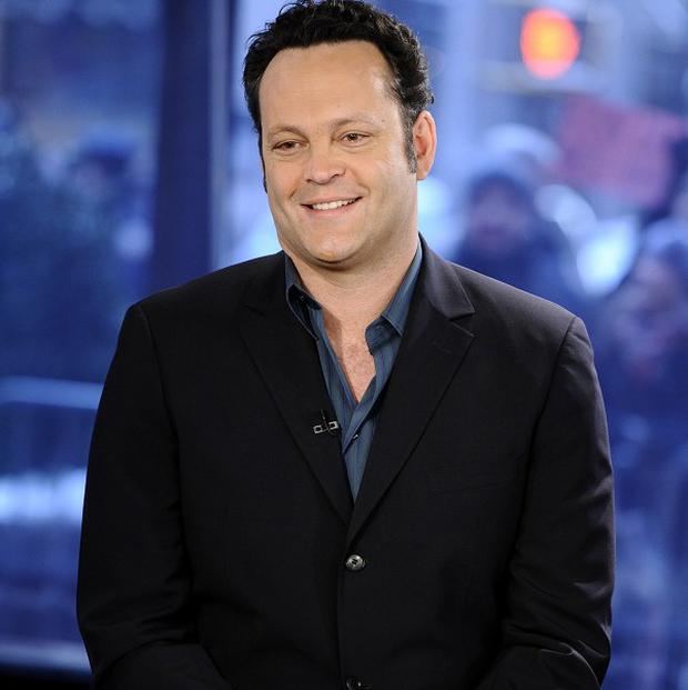 Vince Vaughn's improvisation skills were a big hit with his co-stars