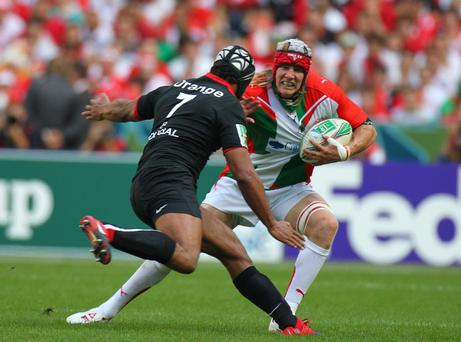Magnus Lund will be a key player for Biarritz at Ravenhill tomorrow.