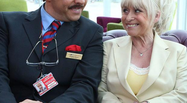 Barbara Windsor will appear in Come Fly With Me