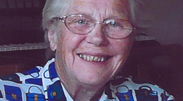 Lollipop lady Audrey Williams died after she was knocked down by a school bus in Ayr