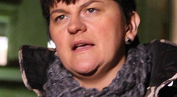 Enterprise Minister Arlene Foster announced the opening of a new 10 million pound food company plant in Co Tyrone