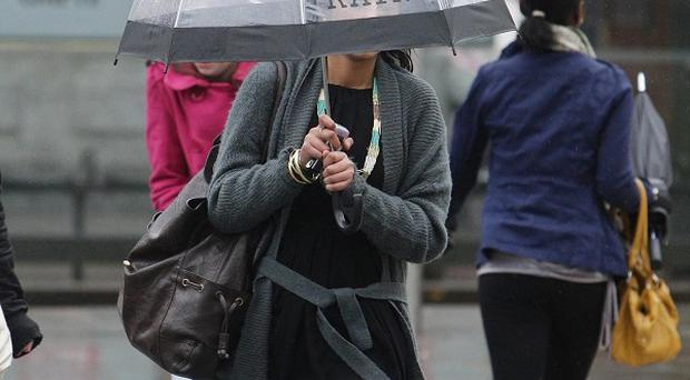 Britain is braced for a wet and windy weekend