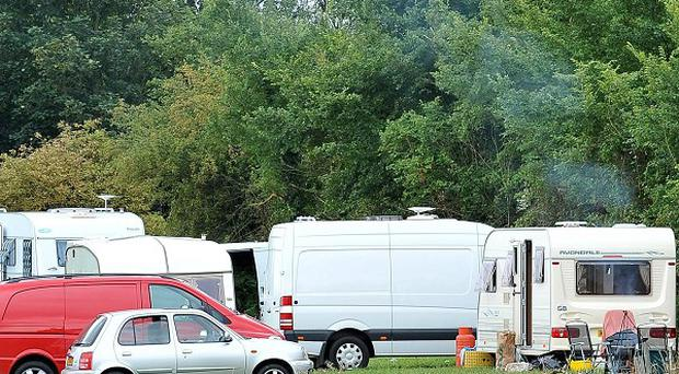 Environment Secretary Caroline Spelman has promised to stop travellers obtaining retrospective planning permission