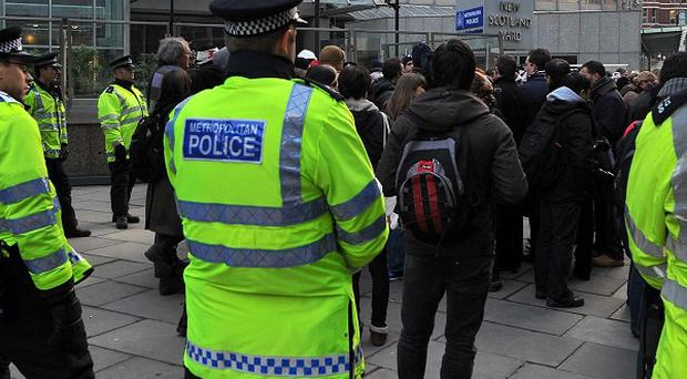 A 14-year-old boy arrested on suspicion of throwing a petrol bomb during a student protest has been released on police bail