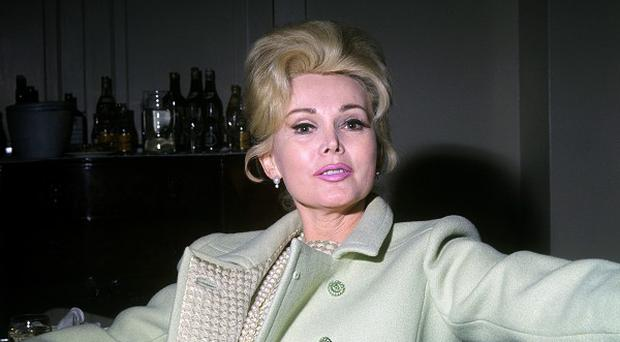 Film star Zsa Zsa Gabor pictured in a London hotel in 1966
