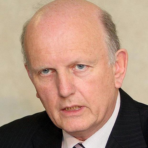 Minister Michael McGimpsey said up to 4,000 jobs could be lost through health cuts