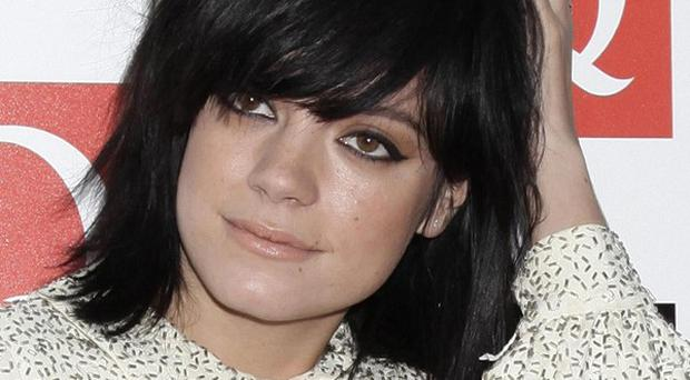 Lily Allen said she has no interest in an interview with Piers Morgan