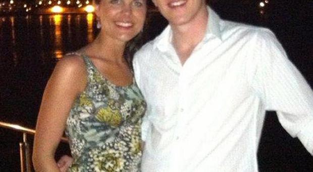 John and Michaela McAreavey on their honeymoon (McAreavey Family/PA Wire)