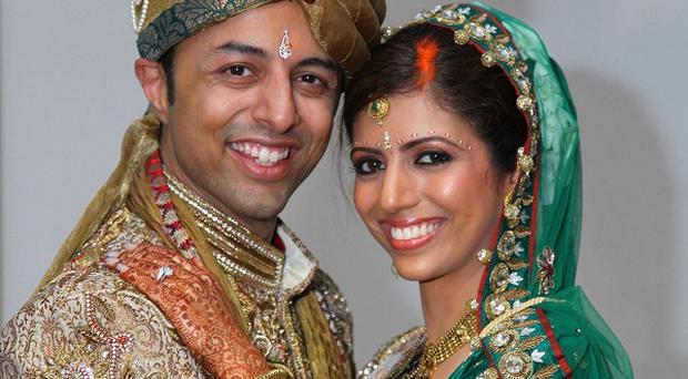 Shrien Dewani with wife Anni before she was murdered in South Africa