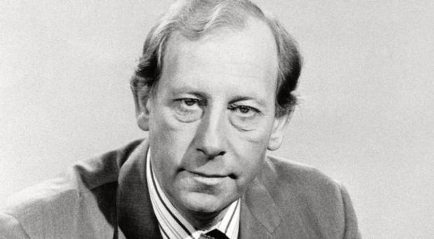 Former BBC newsreader Peter Woods who has been revealed as the father of BBC journalist Justin Webb.