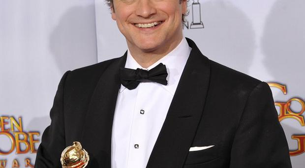 Colin Firth won a Golden Globe for his role in The King's Speech