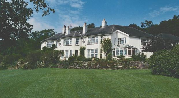 Ballyalloly House in Comber is a palatial pad with beautiful gardens