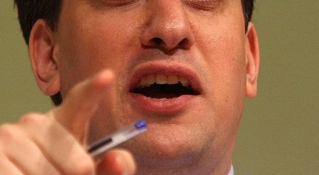 Labour leader Ed Miliband says MPs should set their sights on David Cameron rather than Nick Clegg