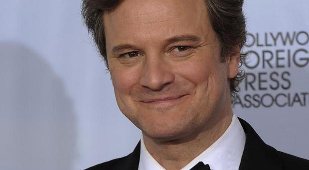 Golden Globe winner Colin Firth is also in the running for a Bafta for his role in The King's Speech