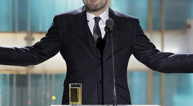 Ricky Gervais has defended his jokes as he hosted the 68th Annual Golden Globe Awards
