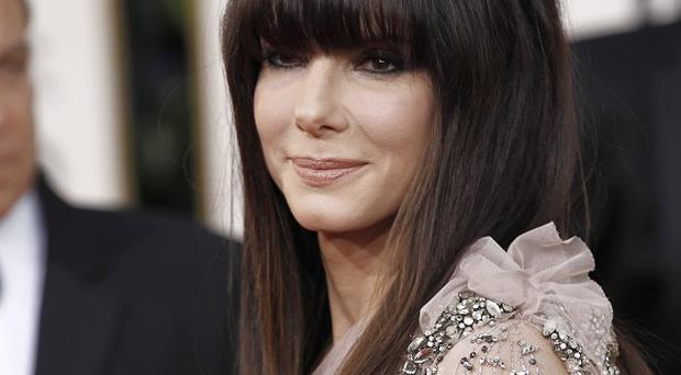 Sandra Bullock says the only man in her life is her young son