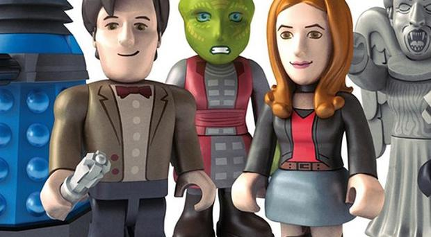 Doctor Who fans will be able to collect the new mini figures