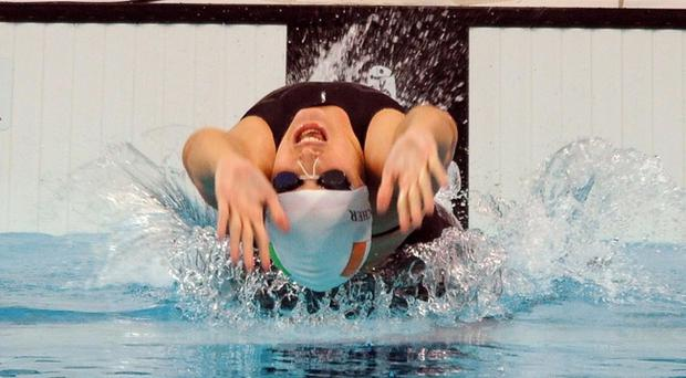 World class swimmer Melanie Nocher has had her funding from Sport NI axed.