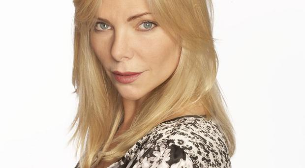 Samantha Womack's character Ronnie was embroiled in the Eastenders baby swap plot.