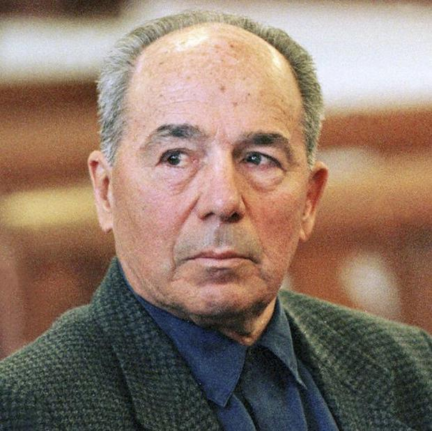 Luigi Manocchio, reputed leader of New England's Patriarca crime family, was among suspected mobsters arrested in several states (AP)