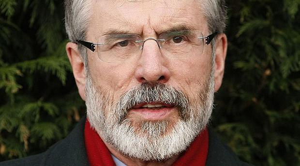 Sinn Fein president Gerry Adams has resigned from his seat in Westminster