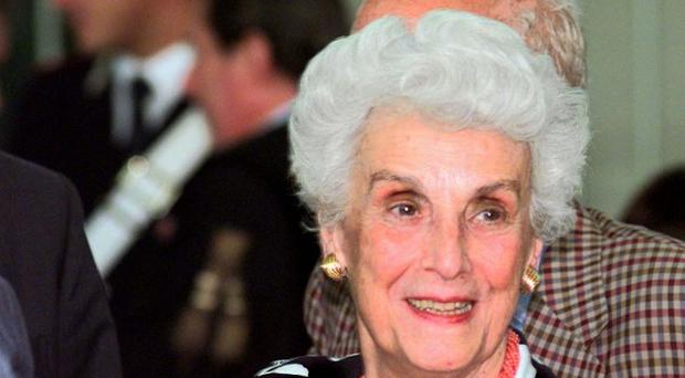 Tullia Zevi, a pillar of Italy's Jewish community and an ardent anti-fascist, has died aged 91 (AP)