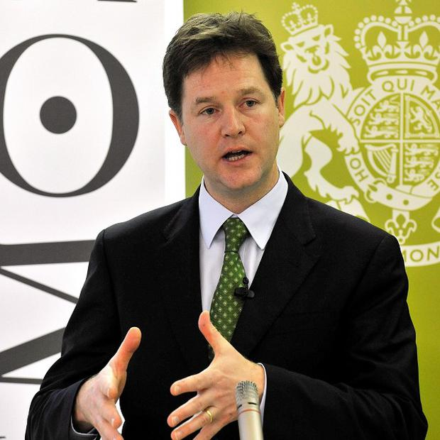 Nick Clegg says the Tories and the Lib Dems will fight the next election as separate parties
