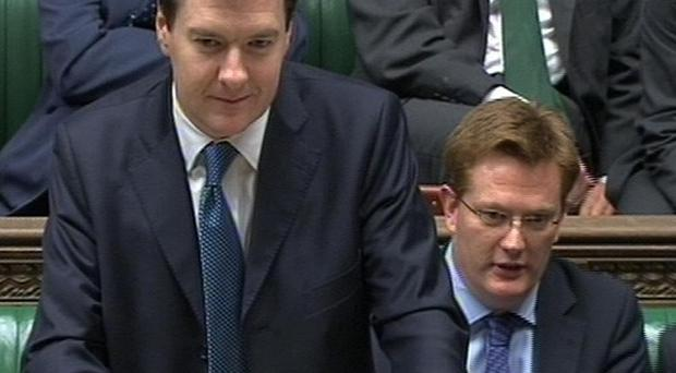 Chancellor George Osborne is talking to the banks about bonuses and lending levels