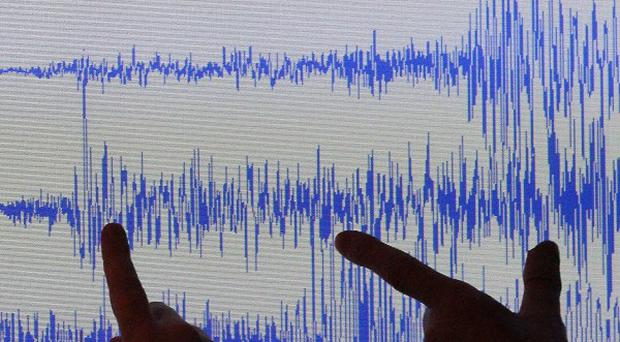 An earthquake has been recorded in the west of Scotland