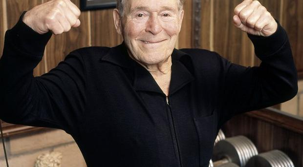 Fitness pioneer Jack LaLanne, who has died aged 96 (AP)