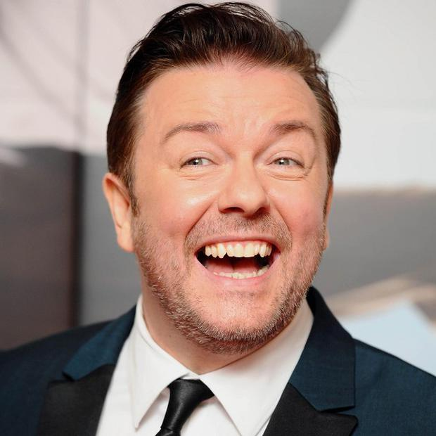 Ricky Gervais has defended his Golden Globe gags