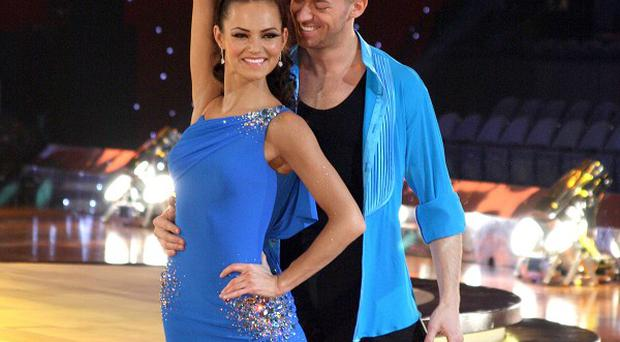 Kara Tointon and dance partner Artem Chigvintsev tried to keep their blossoming romance a secret