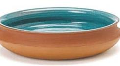 <b>Rukmale Terracotta Shallow Bowl</b><br/> The thing you notice about Jamie's programmes is that he always has great serving bowls and platters. Try something from this range to start your collection.<br/> <b>Where</b> 0845 279 7227; www.jamieoliver.com <br/> <b>How much</b> £28