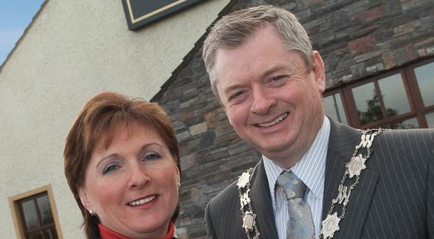 Hotelier Eugene McKeever and his wife Catherine celebrate 25 years in business