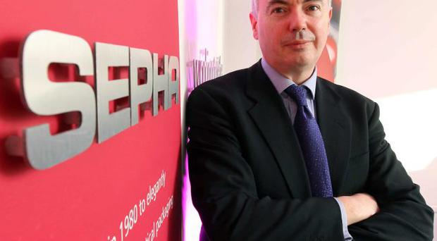 Sepha boss John Haran is setting a blistering pace in the pharmaceutical packing sector
