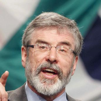 Gerry Adams insisted his bid to engage with dissident republicans is not a stunt