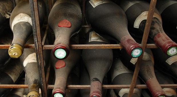 The Government's wine cellar includes a Chateau Petrus 1978 worth more than 2,500 pounds