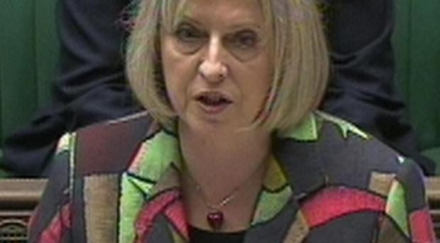 Home Secretary Theresa May said control orders will be watered down