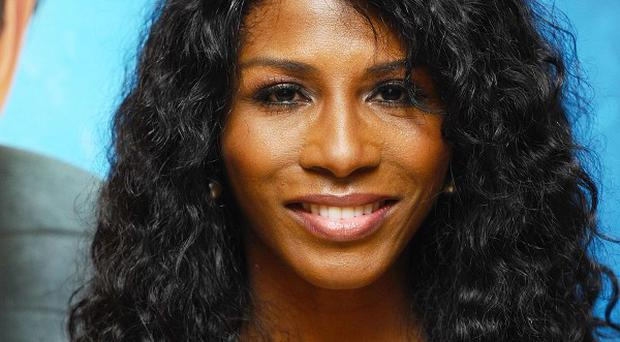 Sinitta has carried on skating after Dancing On Ice