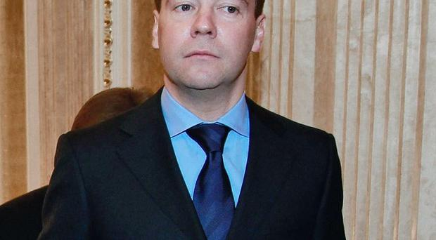 Russian President Dmitry Medvedev has fired a top transport official in the wake of an airport bombing