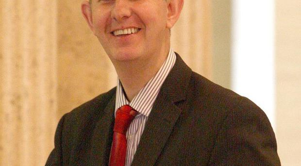 Environment minister Edwin Poots launched the report on Northern Ireland's fishing industry