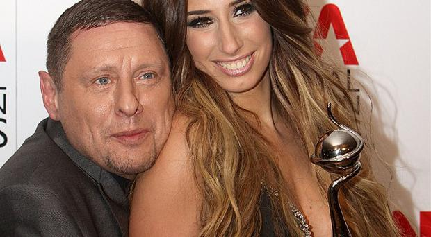 Stacey Solomon and Shaun Ryder were nervous about their performance at the NTAs