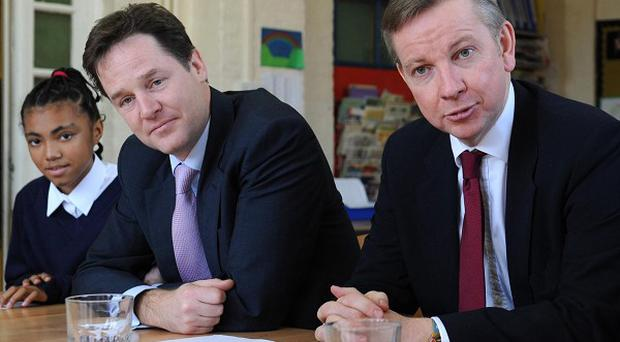 Education Secretary Michael Gove will set out the Government's plans for a major overhaul of the English schools system