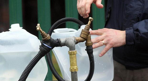 Almost 25 million pounds to upgrade Northern Ireland's ageing water system was surrendered to central government last month