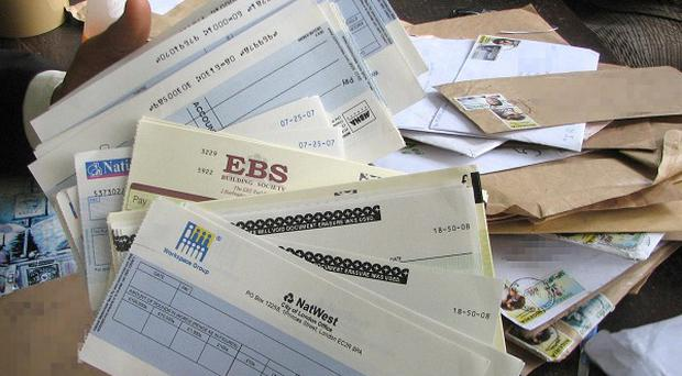 British taxpayers pay an extra 765 pounds every year because of fraud, such as counterfeit cheques