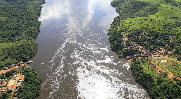 The site where Belo Monte dam will be built, on the Xingu River, in Para, northern Brazil (AP)